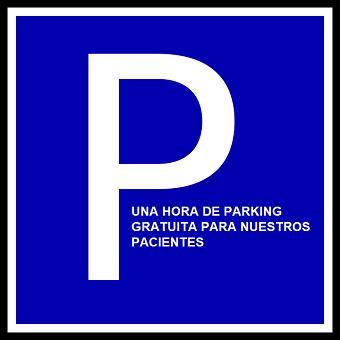 1h de parking gratis en Galeras