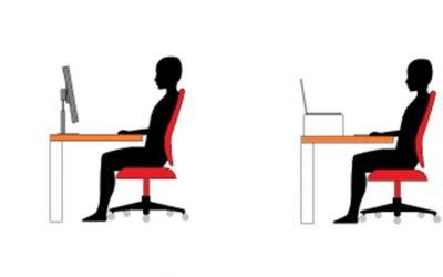 Ergonomía en el trabajo frente al ordenador